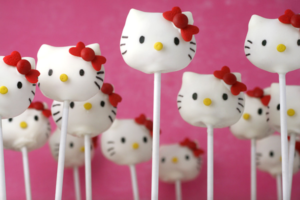 hello kitty cake pops - photo #3