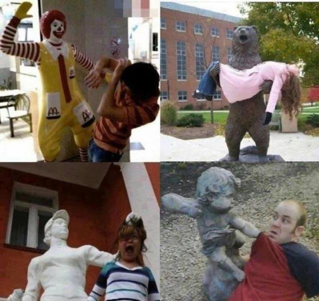 Statue Attack