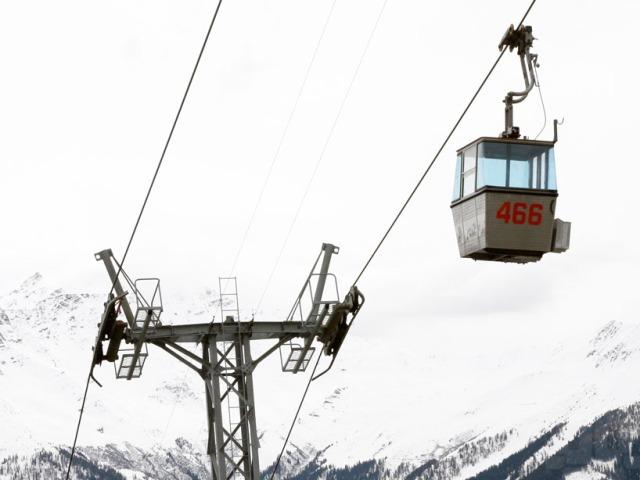 ski gondola